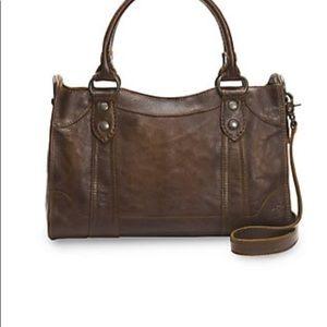 Frye leather Melissa bag.